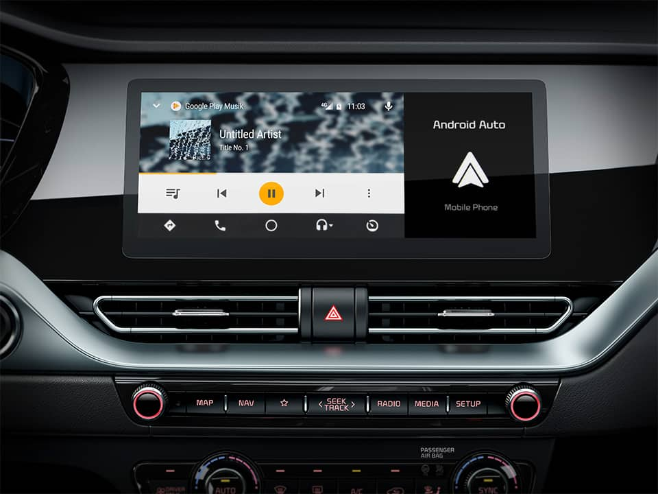 Kia Niro connected services TomTom Android Auto™